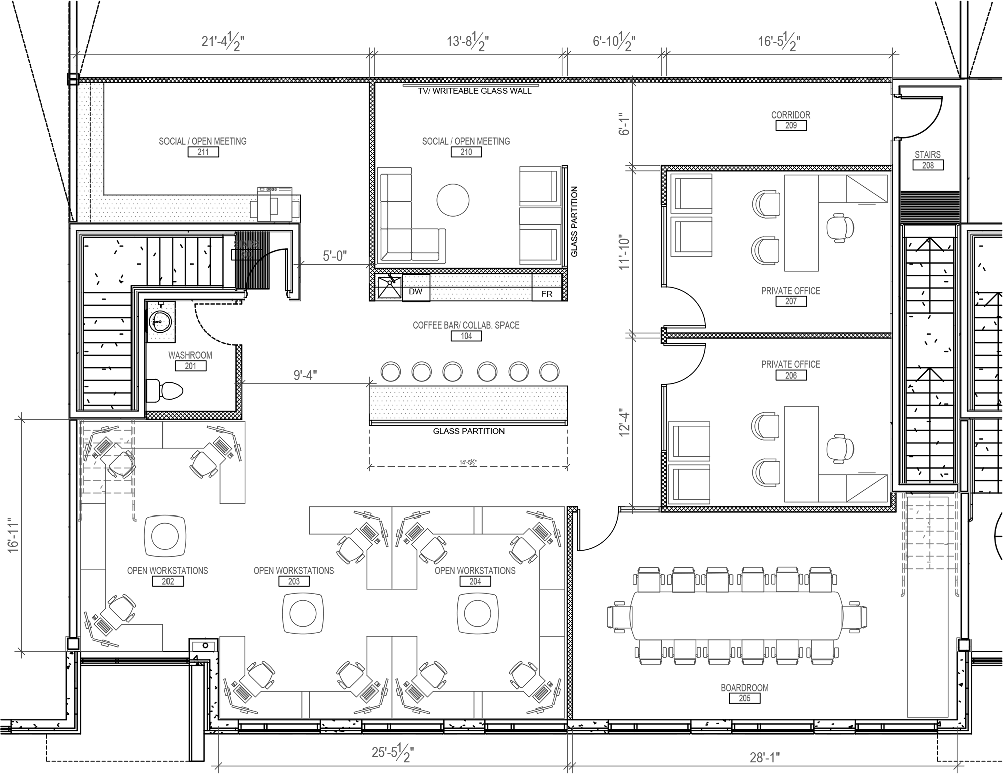 Office Plan Second Floor